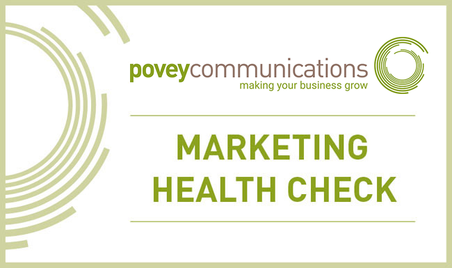 povey communications - marketing health check
