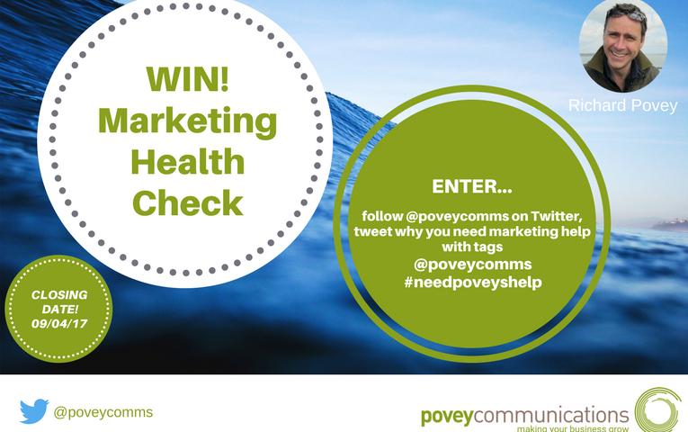 WIN a Marketing Health Check - povey communications