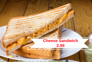 povey communications - bad cheese sandwich branding