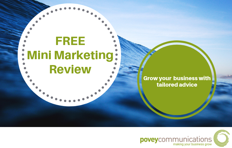 FREE Mini Marketing Review - povey communications