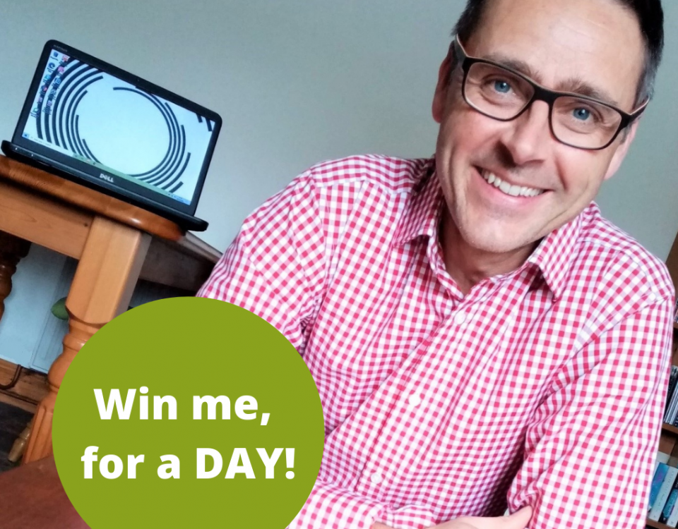 Win Richard Povey for a day - Marketing Manager
